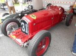 The Museum welcomes sports cars and race cars that ran only on road courses. While the pictured Ferrari isn't committed to the Museum, it participated in the annual Lime Rock Vintage races which each year draw huge crowds and famous personalities.